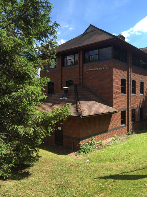 The office of TaperedPlus in Bridgenorth Shropshire