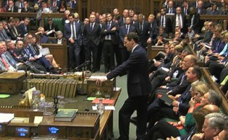 Chancellor of the Exchequer George Osborne delivered his latest Budget speech to a packed House of Commons