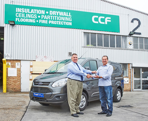 Jerzy Stanuszek (right) has been crowned the CCF Winsulation winner