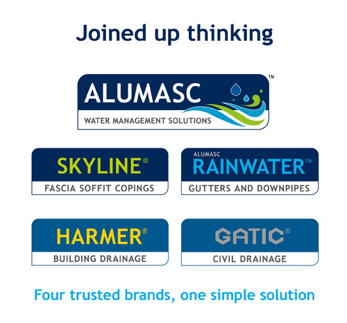 "Alumasc Group has launched AWMS, its new joined ""rain to drain"" brand"