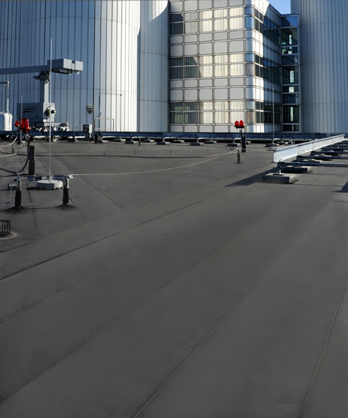 The WOLFIN Vapour Permeable Roof Refurbishment Solution does not require the existing flat roof to be removed, saving time and money on refurbishment jobs