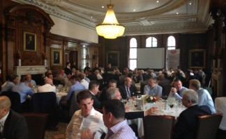 Guests of Icopal enjoyed a three course meal as part of the IMA's AGM at One Great George Street