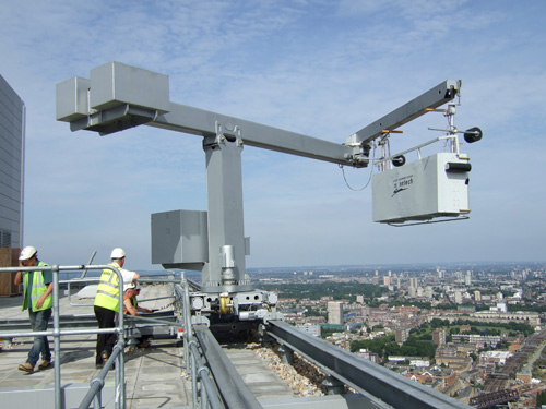 SEAMA says permanently installed access systems (like the one pictured) should conform with BS 6037