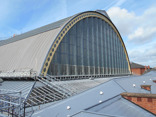 Sika Liquid Plastics was chosen as the roofing manufacturer for the Olympia Conference Centre in London