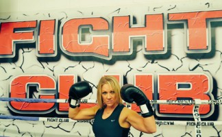 Proteus Waterproofing's Roz Richardson prepares to step into the ring for the first time