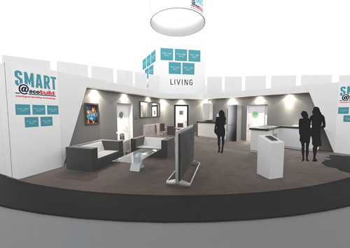 The SMART building technologies live rooms will showcase new developments
