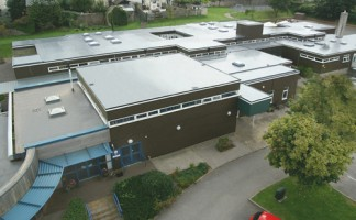 Eden Park Academy, showcasing its recent roof refurbishment with Sika Liquid Plastics' liquid waterproofing membrane, Decothane