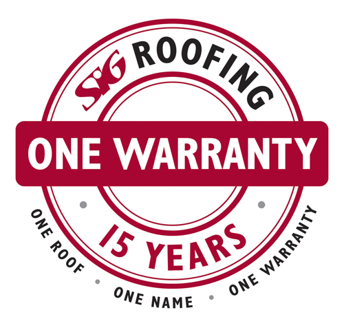 SIG Roofing's ONE Warranty for pitched roofing products offers 15 years of coverage without any extra cost, supporting the build-up of the roof from batten to roof coverings