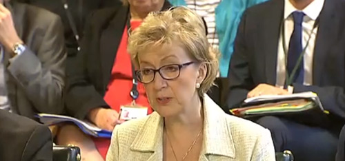 Andrea Leadsom MP, minister of state for DECC, answered questions to the ECC Committee earlier this month