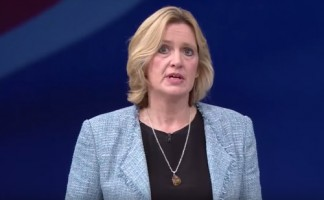 Amber Rudd claimed the Conservatives needed to be tough on subsidies in her speech at the party's conference in Manchester