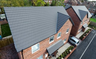 Marley Eternit's Riven Edgemere tiles were specified for Arcon Housing Association's ten property development in Gorton, south east of Manchester