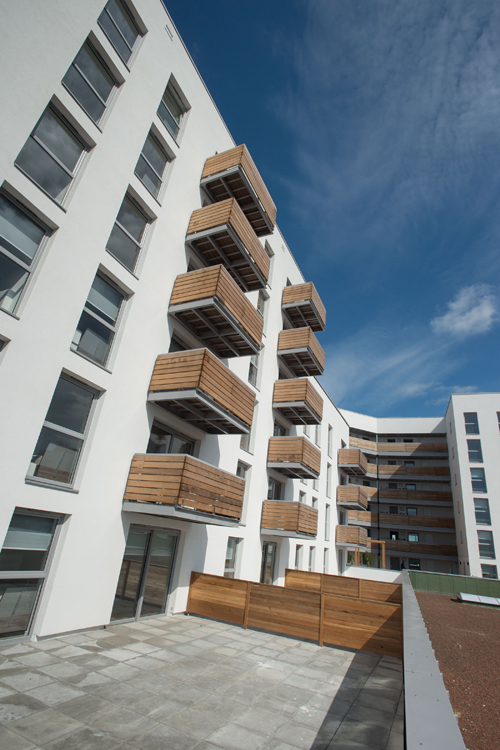 External wall insulation from Saint-Gobain Weber at the Barking development