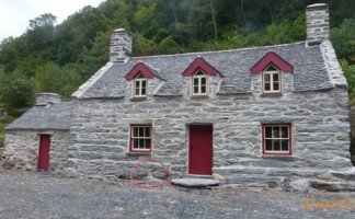 Penmaen Cottage - a key heritage project in Snowdonia National Park - that helped Jordan Heritage Roofing scoop the 2015 UK Roofing Award for Heritage Roofing.