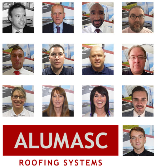 Alumasc Roofing Systems team