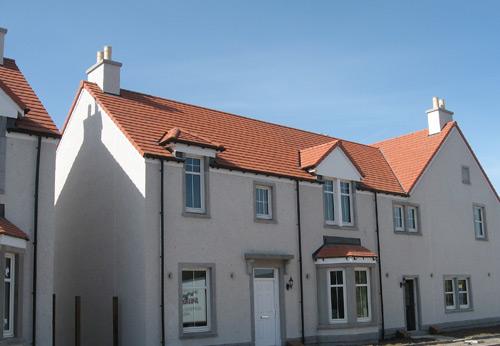 The winning Scotia Homes development