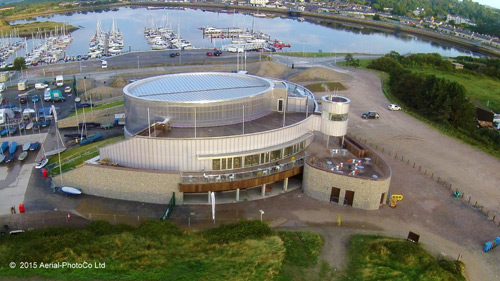 Sika Liquid Plastics provided the products to ensure waterproofing of the roof and walls of the Welsh National Sailing Academy and Events Centre