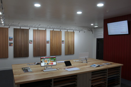 The Silva Timber Products showroom