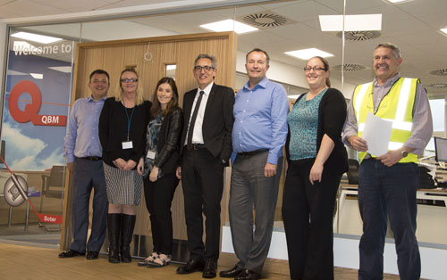 QBM has joined sister company SFS intec at its newly refurbished Leeds premises