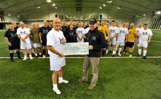 Independent roof tile manufacturer adds £8,000 for Help for Heroes to its total charitable donations of 2015