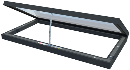 roof glazing product roof maker hits the heights with revolutionary roof light