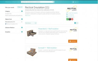 Recticel Insulation has posted more than 100 objects in the NBS National BIM Library