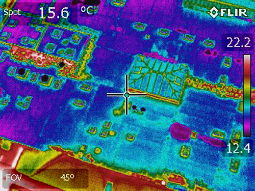 Sika Roofing has partnered with the Infrared expertise of IRT
