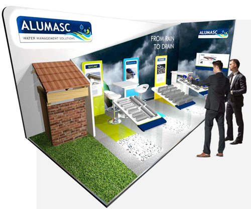 Alumasc Water Management Systems will be found on stand E7 at the RCI Show on January 27&28, 2016.