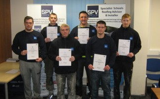 SVP operatives (L-R) Robert Dawes, Jon Lenihan, Warren Thomason, Dean Smith, Zac Nicholls, Jack Lenihan