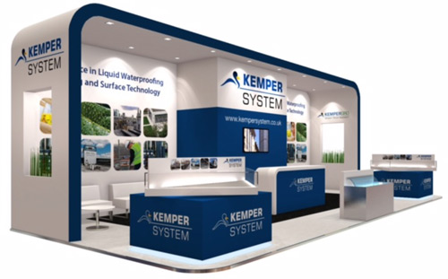 Kemper System will be on stand E5090 at this year's Ecobuild Show (8-10 March)
