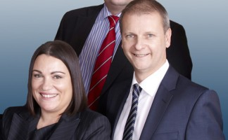 Donna Owen (L) and Richard Price (rear) have been appointed as Building Innovation's first key account managers