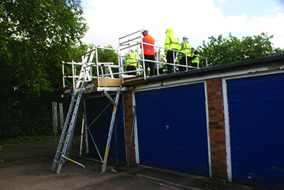 By opting for Easi-Dec's Low Level Roof Edge Protection system, contractors will have a fully certified, safe and stable platform that will also save time and money on site