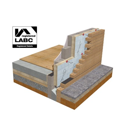 Recticel Insulation's Eurowall + is now an LABC Registered Detail