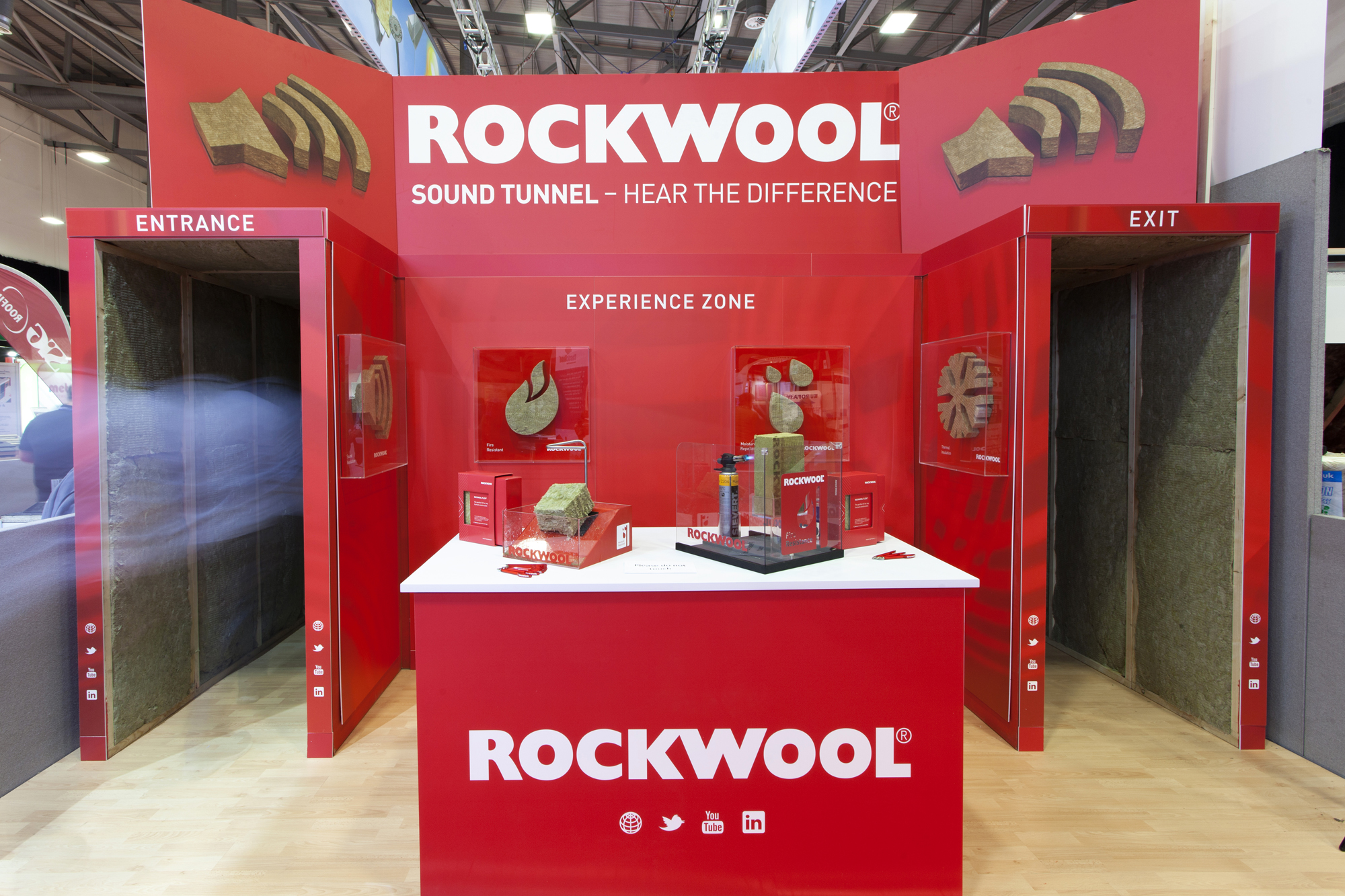 Rockwool at the rci show 2016 roofing cladding for Rockwool sound insulation