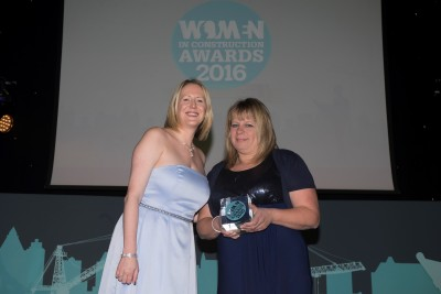 Jackie Biswell - Women in Construction Award