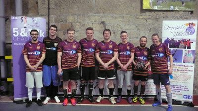 Staff from Bond It recently took part in a charity football tournament for Overgate Hospice.