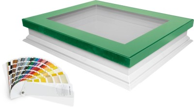 FAKRO's new DEF flat roof windows can be specified in any RAL colour from the Classic Palette through its new ColourLine offering