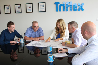Ambitious to develop her existing knowledge of building and construction, Triflex says that Ms Parsons looks forward to continuing her career within interior and structural design