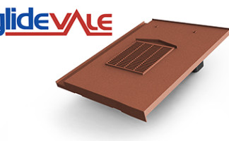 Glidevale's universal in-line flat interlocking tile ventilator