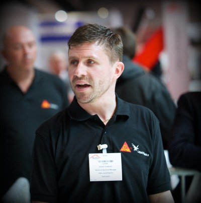 Steve Cookson, Technical Services Manager at Sika Liquid Plastics