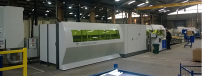 Over $1.2m of the investment has been used to install the new BLM Adige Fibre Optic Laser Cutter at the company's Maldon UK facility