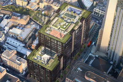 Prater, Lindner Facades, and Lindner interiors have all secured contracts on the Principal Place development