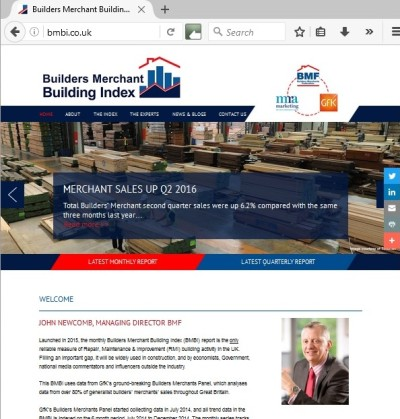 Bmbi Launches New Website Roofing Cladding Amp Insulation
