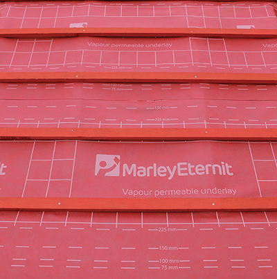 Marley Eternit's vapour permeable underlay