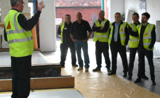 Sika supports contractors with a complete training offering