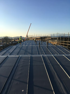 The Princesshay Shopping Centre roof refurbishment project in Exeter