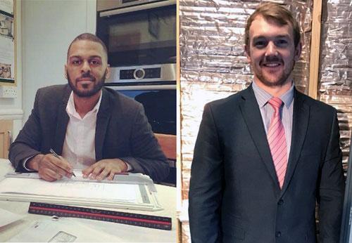 (L-R) Ivan Amaral, South Central area sales manager, and Steven Ellis, East England area sales manager