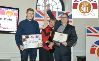 Last year's winners from the Super Sausage in Potterspury