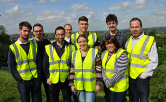 Intrepid SMD staff members who will be taking part in charity events this summer include, among others, from L-R: Jonathan Fleetwood, Jamie Turner, Pete Watkins, Dan Williams, Thom Rigden, Rosie Sharpe, Phil McGeehan, Tracey Tynan and Keith Grange