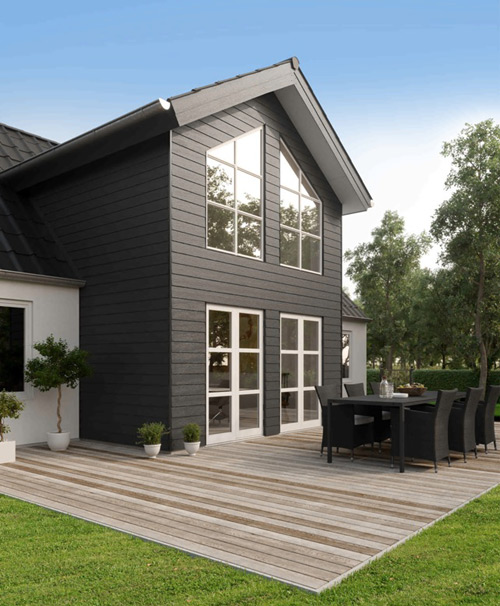 New Choice For Weatherboard Roofing Cladding