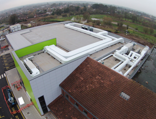 Protan Protects Key Sports Facilities Roofers Near Me